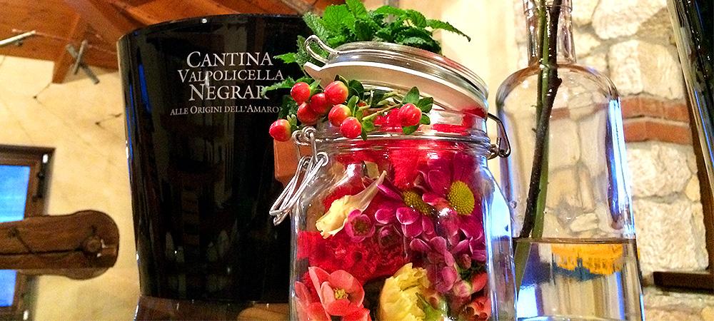 Allestimento Cantina Valpolicella