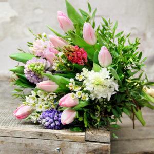 """Bouquet Profumato """"Giacinti e Tulipani"""""""