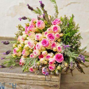 """Bouquet Lavanda e Rose<br>""""Mimi Eden"""""""