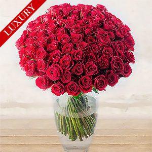 "Rose Rosse ""Red Naomi"" Lunghissime <br>Quantità Personalizzata"