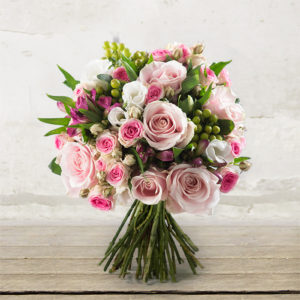 """Bouquet with roses """"Sweet Poetry"""""""