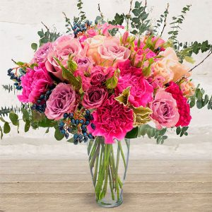 """Bouquet Fiori Rosa<br>""""Bon-Bon"""""""
