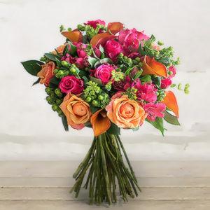 """Bouquet di Roselline """"Tramonto"""""""