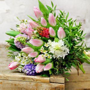 """Bouquet Profumato<br> """"Giacinti e Tulipani"""""""