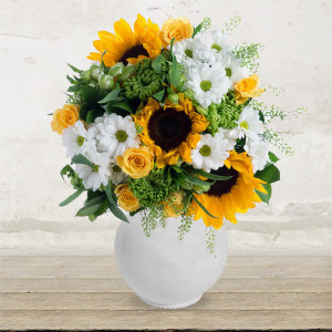 "Bouquet ""Sunflowers & Chamomile"""