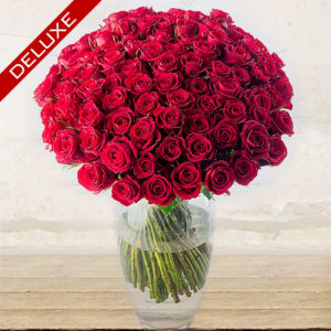 "Red Roses ""Red Naomi"" Long-stem Custom quantity"