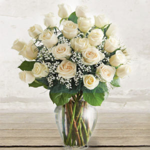 "White Roses ""Extra"" Long-stem Custom quantity"