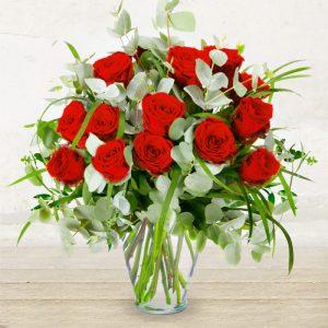 """12 Rose Rosse """"Il Classico"""""""