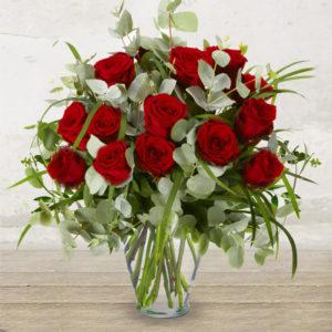 "Bouquet di 12 Rose Rosse ""Il Classico"""
