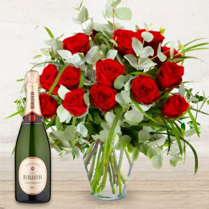 Rose Rosse & Franciacorta Berlucchi